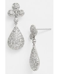 Kwiat | Metallic 'moonrise' Diamond Drop Earrings | Lyst