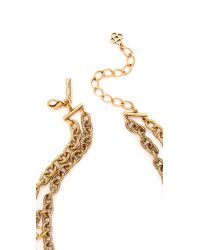 Oscar de la Renta Metallic Coin Necklace