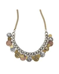Jenny Bird - Metallic Thea Coin Necklace - Lyst