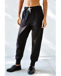 BDG Black Unisex Knit Jogger for men