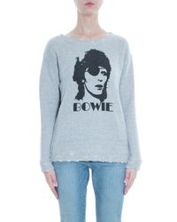 R13 - Gray David Bowie Sweater - Lyst