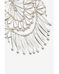 Nasty Gal | Metallic Janessa Collar Necklace | Lyst