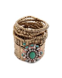 Samantha Wills - Blue Rumours Unknown Bracelet Set Turquoise - Lyst