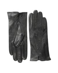 Lauren by Ralph Lauren | Black Whip Stitch Points Glove | Lyst