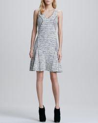Sachin & Babi Black Francisca Sleeveless Knit Dress