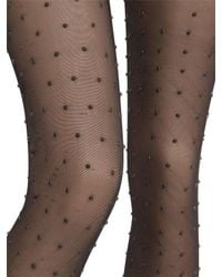 Wolford Black Emily Tights