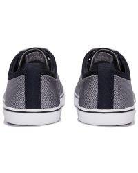 Stussy Gray Hallam Nylon Lace-up Shoes for men