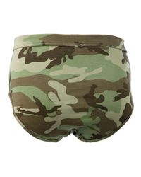 The White Briefs Green Wooster Brief for men