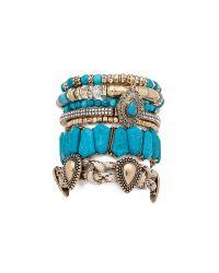 Samantha Wills Green Southern Sun Bracelet Set - Turquoise