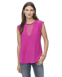 Rebecca Taylor - Purple Charlie Top - Lyst
