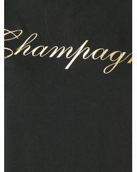 DSquared² - Black Champagne Print T-shirt - Lyst