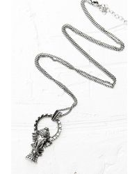 Urban Outfitters | Metallic Ganesh Pendant in Silver | Lyst