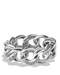 David Yurman Metallic Curb Chain Small Link Bracelet