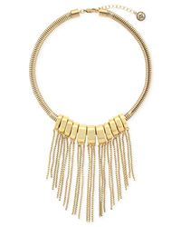 BCBGeneration - Metallic Front To Back Nested Necklace for Men - Lyst