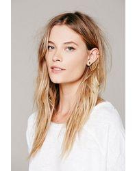 Free People Metallic Womens Cuff To Post Earring