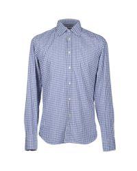 Bevilacqua - Gray Shirt for Men - Lyst