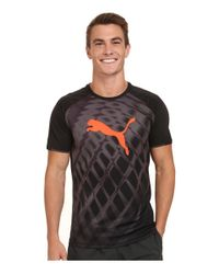 PUMA | Black It Evotrg Graphic Tee for Men | Lyst