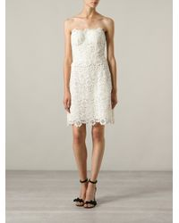 Dolce & Gabbana White Lace Dress