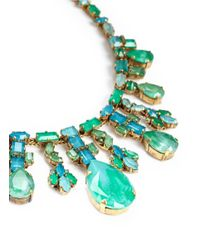 Aerin | Blue X Erickson Beamon Crystal Teardrop Necklace | Lyst