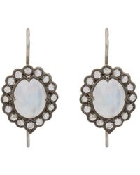 Cathy Waterman - Metallic Women's Lace Earrings - Lyst