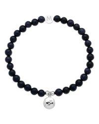 Melissa Odabash | Blue Rhodium & Torque Sagittarius Bracelet | Lyst