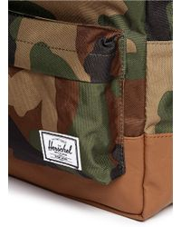 Herschel Supply Co. - Green 'Heritage' Camouflage Kids Backpack for Men - Lyst