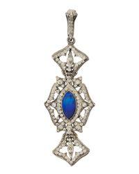 Armenta - Metallic Opal Doublet & Diamond Crest Enhancer - Lyst