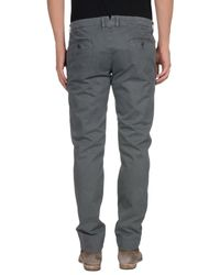 Macchia J - Gray Casual Trouser for Men - Lyst