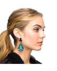 Lulu Frost | Black Lucid Drop Earrings | Lyst