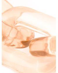 Stella McCartney   Natural 'bijoux Butter Plexi' Necklace   Lyst