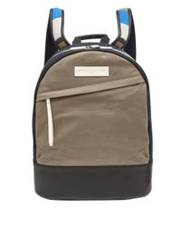 Want Les Essentiels De La Vie | Blue Navy Kastrup Stripe Strap Backpack for Men | Lyst