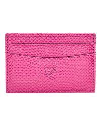 Aspinal Leather Slim Credit Card Case