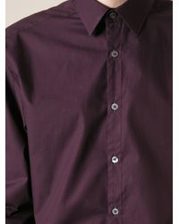 Paul Smith Purple Classic Formal Shirt for men