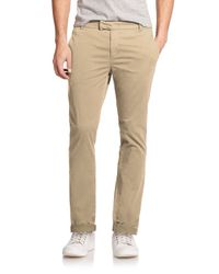 J Brand | Natural Brooks Slim Pants for Men | Lyst