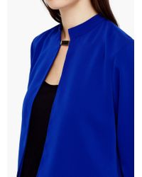 Mango - Blue Double-layer Jacket - Lyst