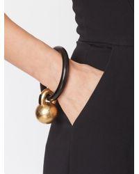 Monies Black Kettle Ball Bracelet