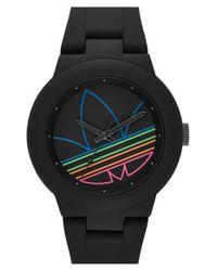 Adidas Originals - Black 'aberdeen' Sports Watch - Lyst