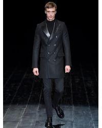 Gucci Black Slim-Leg Stretch-Wool Trousers for men