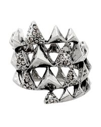 House of Harlow 1960 | Metallic Pyramid Wrap Ring | Lyst