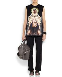 Givenchy - Black Obsedia Bracelet in Skate and Python - Lyst