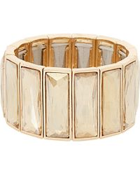 Dune | Metallic Jubilee Jewel-embellished Bracelet - For Women | Lyst