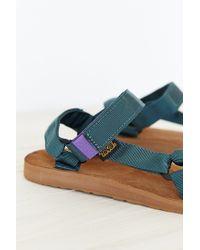 Teva | Green Suede Original Universal Men's Sandal for Men | Lyst