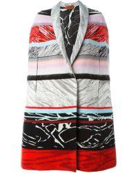 Missoni | Multicolor Wool Cape | Lyst