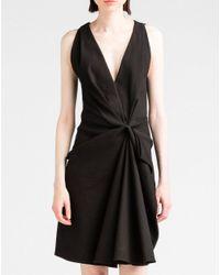 Lanvin | Black Dress | Lyst