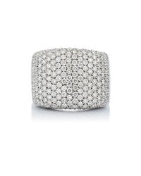 Roberto Marroni | Metallic Pave Rectangular Ring | Lyst