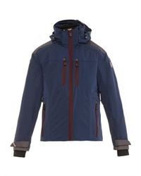Moncler Grenoble Blue Ajaccio Recco Ski Jacket for men