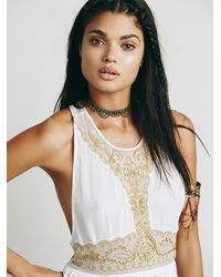Free People | White Provence Slip | Lyst