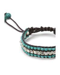 Forever 21 - Blue Daring Darling Cord Bracelet - Lyst