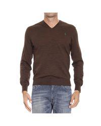 Polo Ralph Lauren | Brown Sweater for Men | Lyst