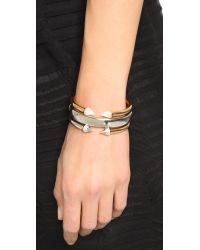 Vita Fede Metallic Mini Titan Split Two Tone Bracelet